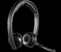 هدست بی سیم لاجیتک Logitech Wireless Headset H820e